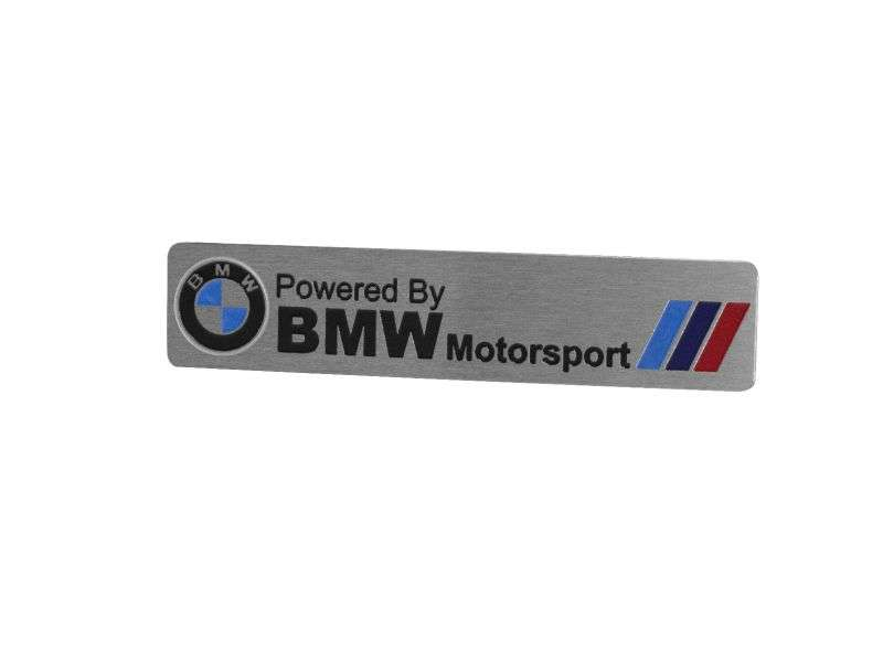 Emblema Badge BMW Motorsport - Frontal