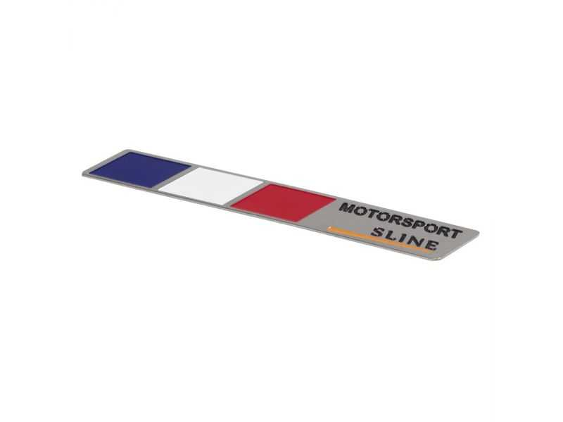 Emblema Badge Motorsport Sline France - Diagonal