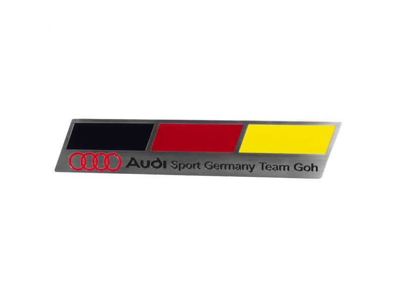 Emblema Badge Audi Sport Germany - Frente