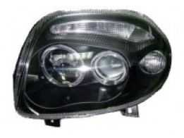 Farol Projetor Clio 98/03 Black Angel Eyes