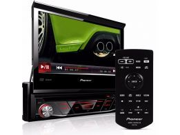 DVD Player Pioneer AVH-4880BT Bluetooth Tela Retrátil 3 RCA