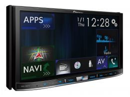 Central Multimídia Pioneer AVIC-F80TV com Car Play / Bluetooth / TV / GPS / Mixtrax