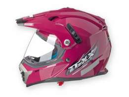 Capacete Texx Mx Double Vision Bordo XL-61