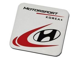 Emblema Badge Hyundai Motorsport Korea 6x5cm