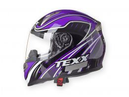 Capacete Texx Race Double Vision Sleek Roxo XL-61