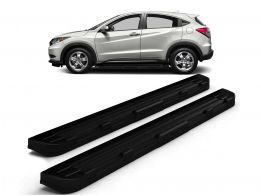 Estribo Off-Road HR-V 15/.. Black Piano c/ Grafia