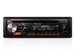 CD Player Pioneer DEH-S4080BT USB / Interface Android / Bluetooth / Dual Color & Mixtrax